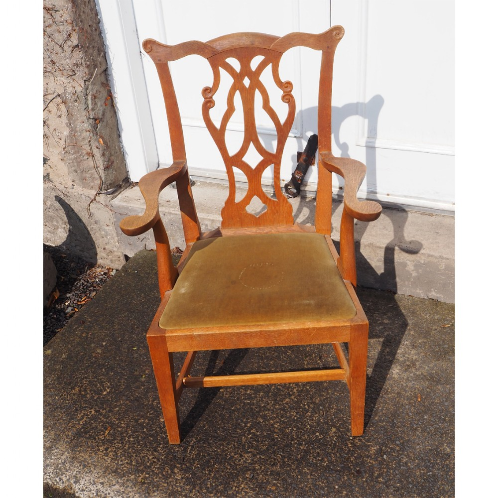 wheeler of arncroach chippendale childs chair