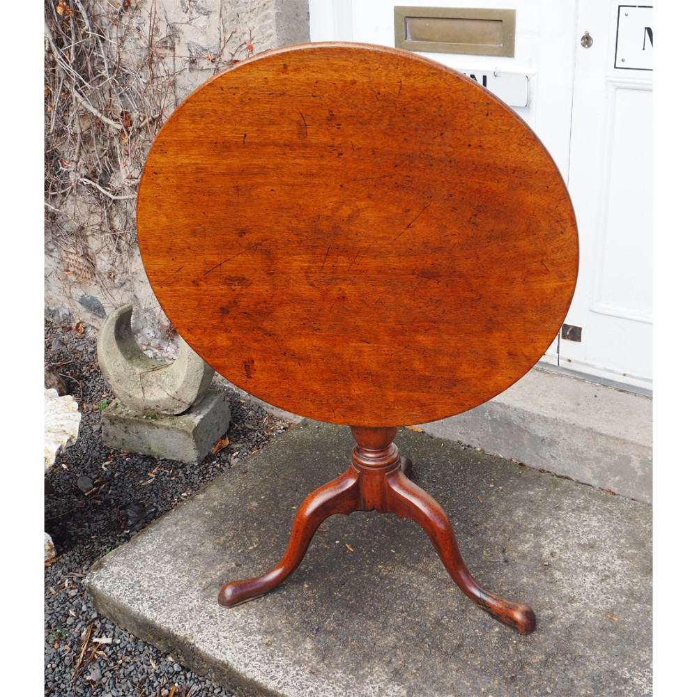 george iii mahogany tilt top tripod table