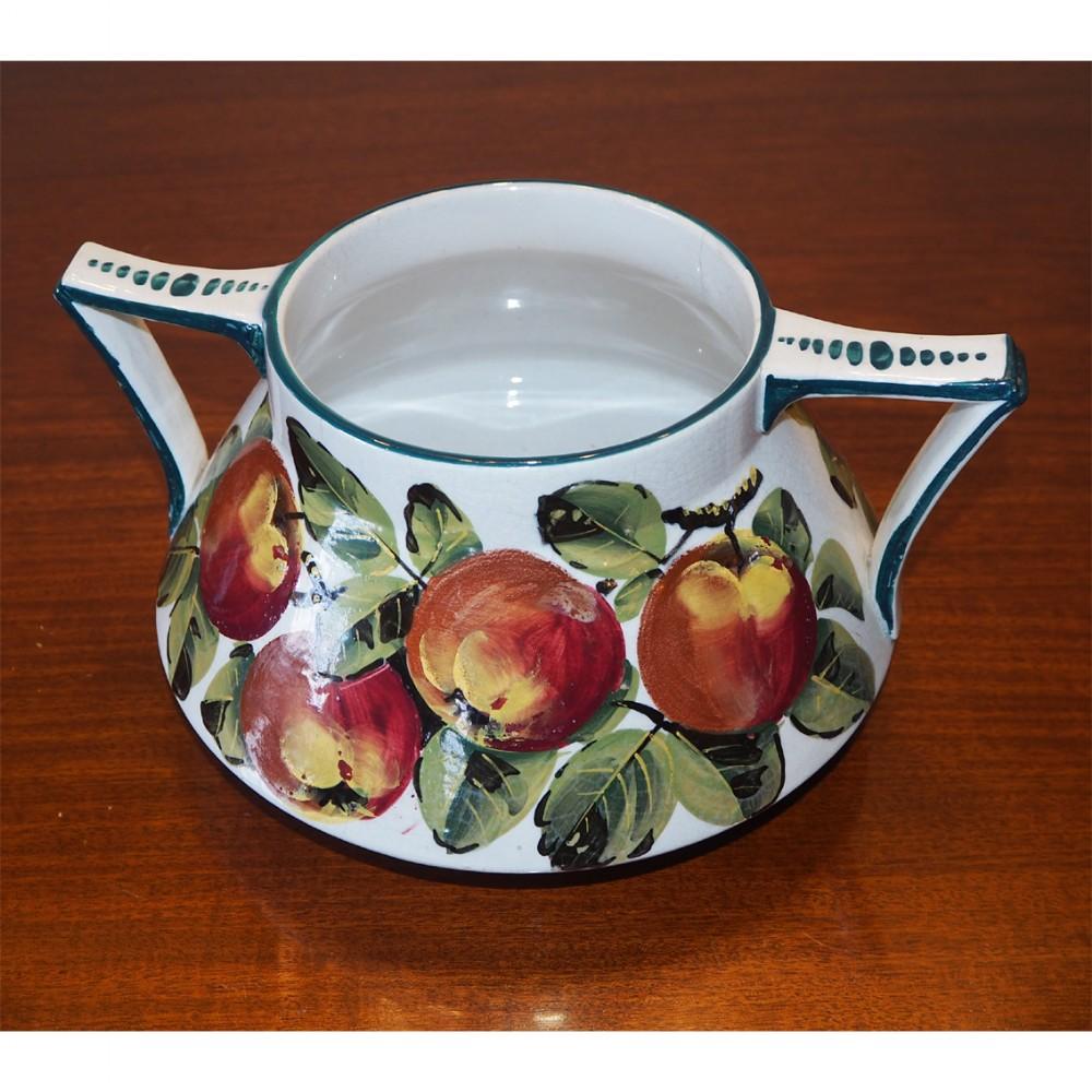 rare wemyss rosslyn flower bowl in apples