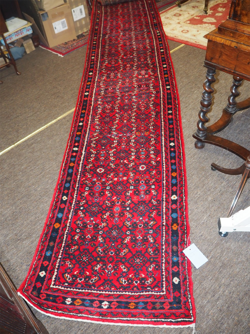 5 metre long persian hamadan runner