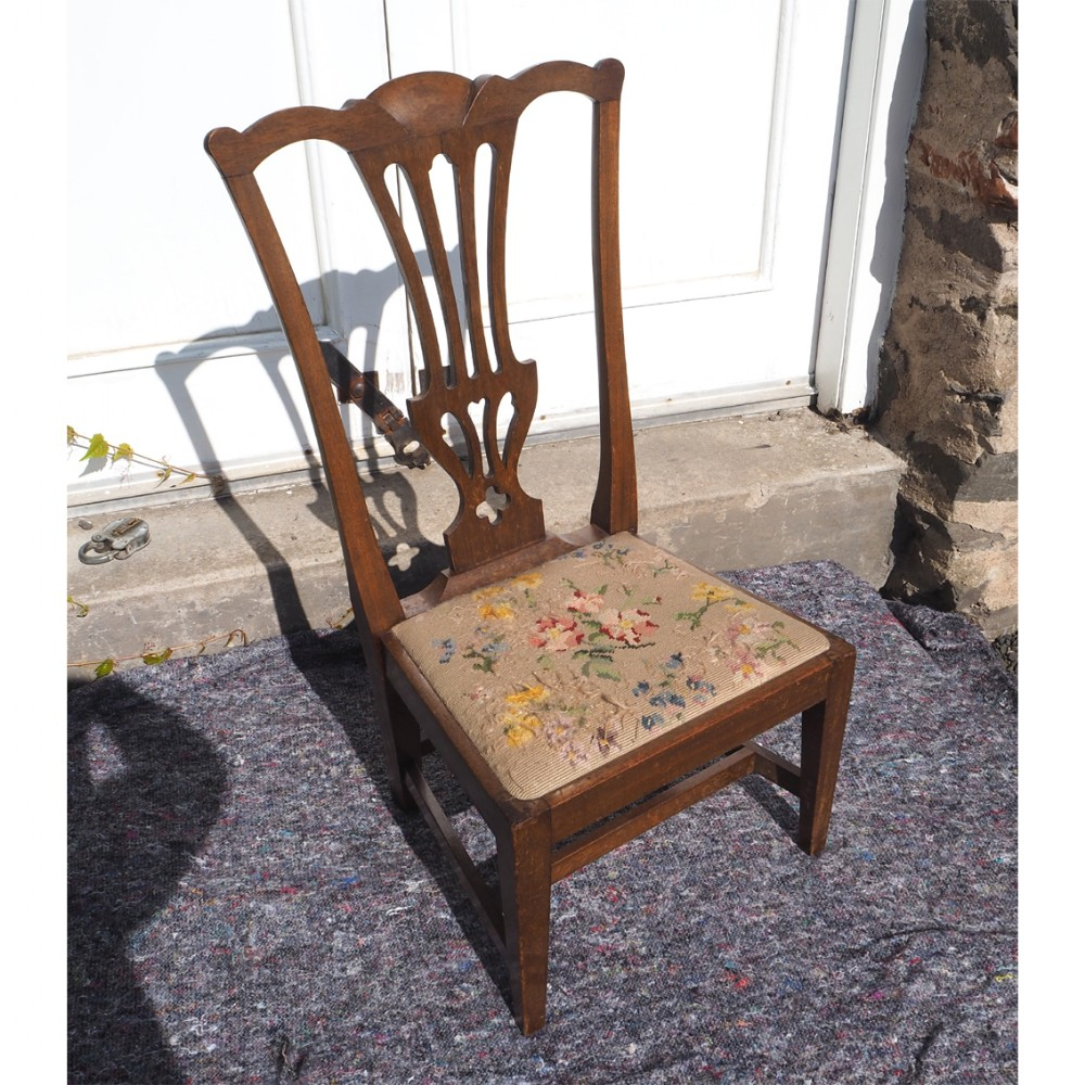 rare scottish childs chair by j riddoch