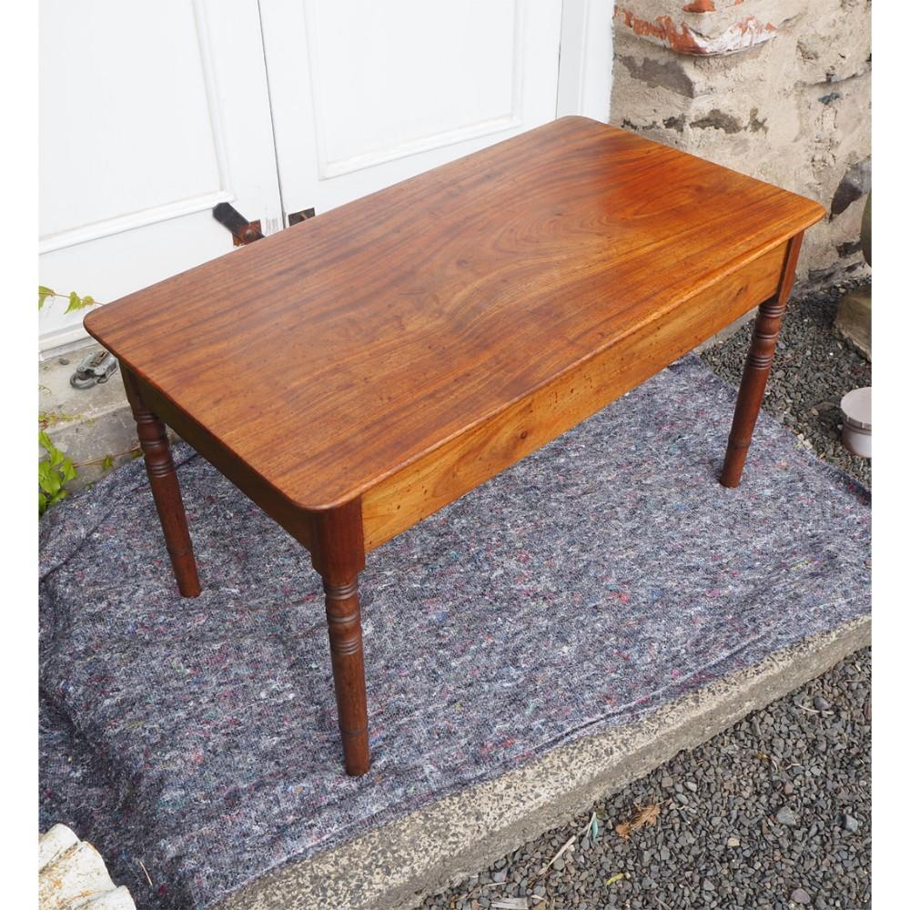 georgian mahogany low coffee table
