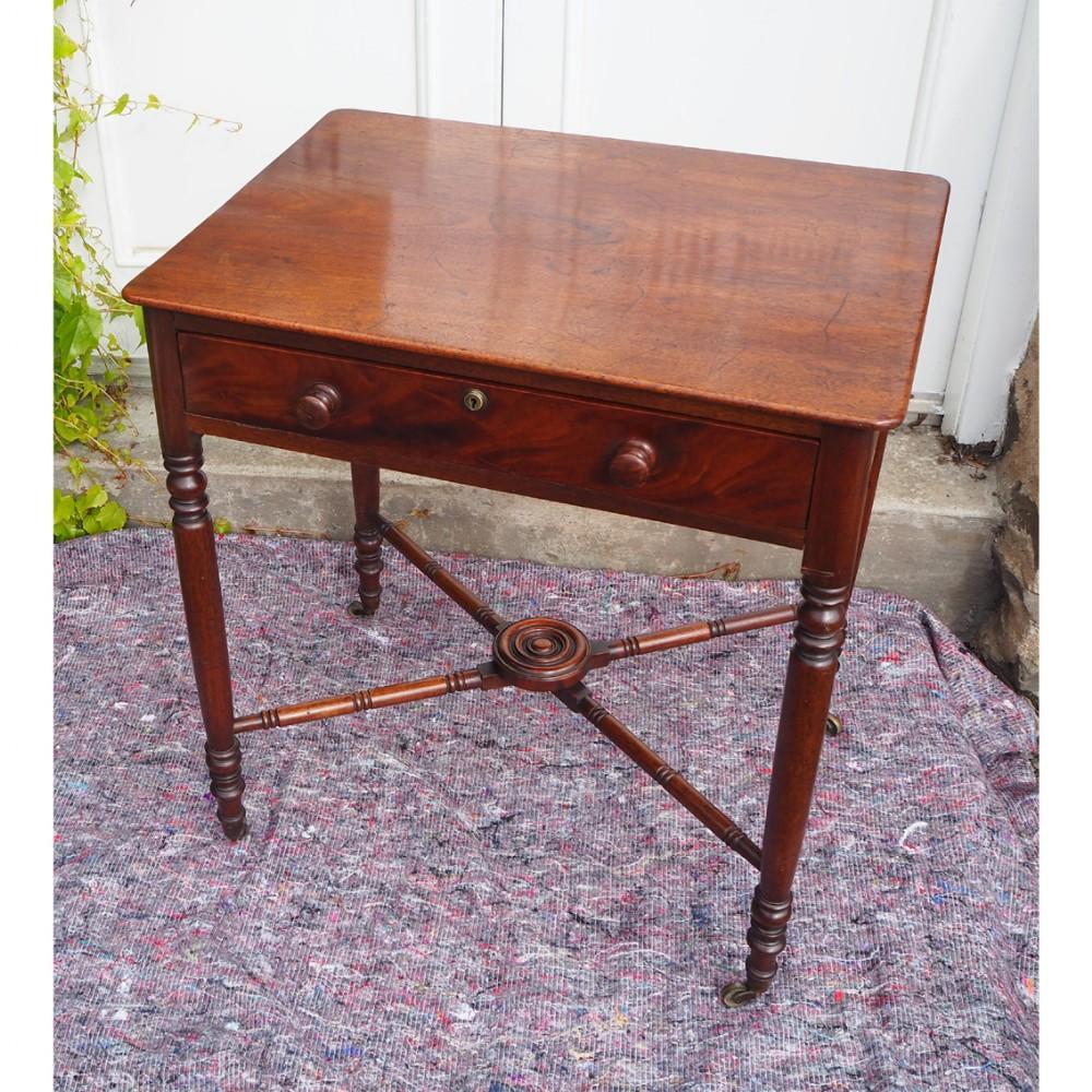 small georgian mahogany side table