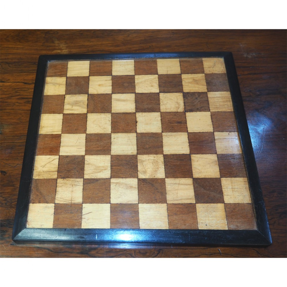 georgian table top chess board