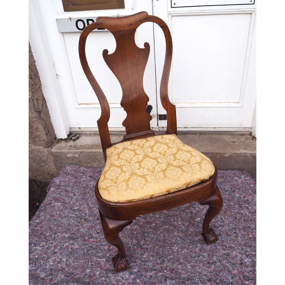 sublime george 1st walnut hand chair