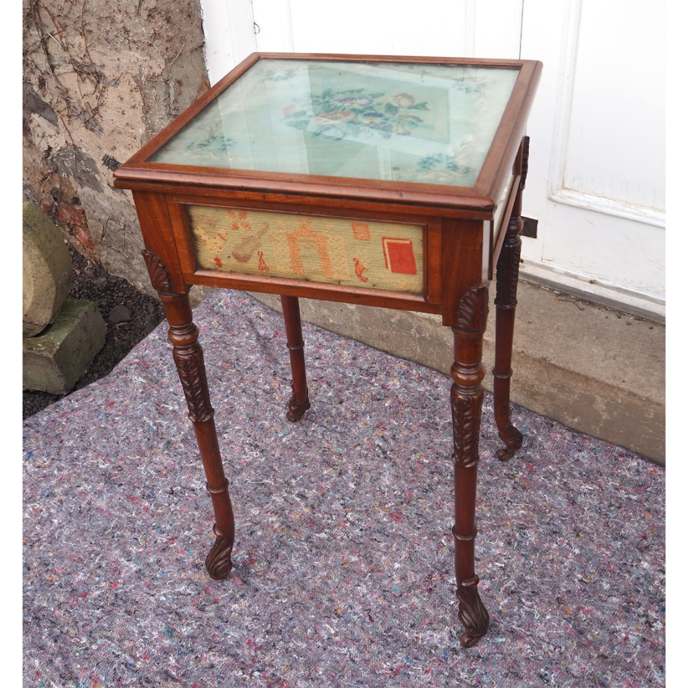 unusual regency irish occasional table