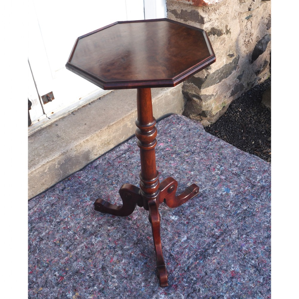 early 19th century dutch candle stand