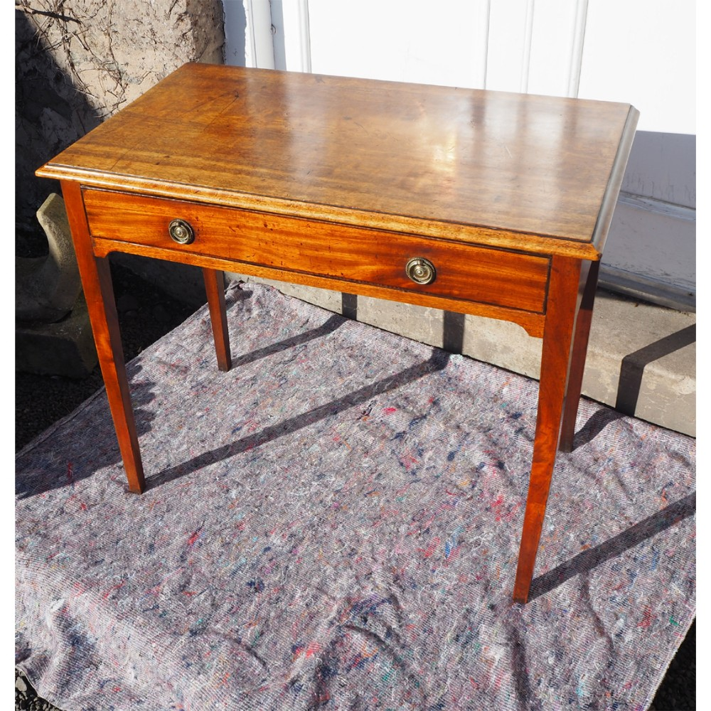 good george 3rd mahogany side table