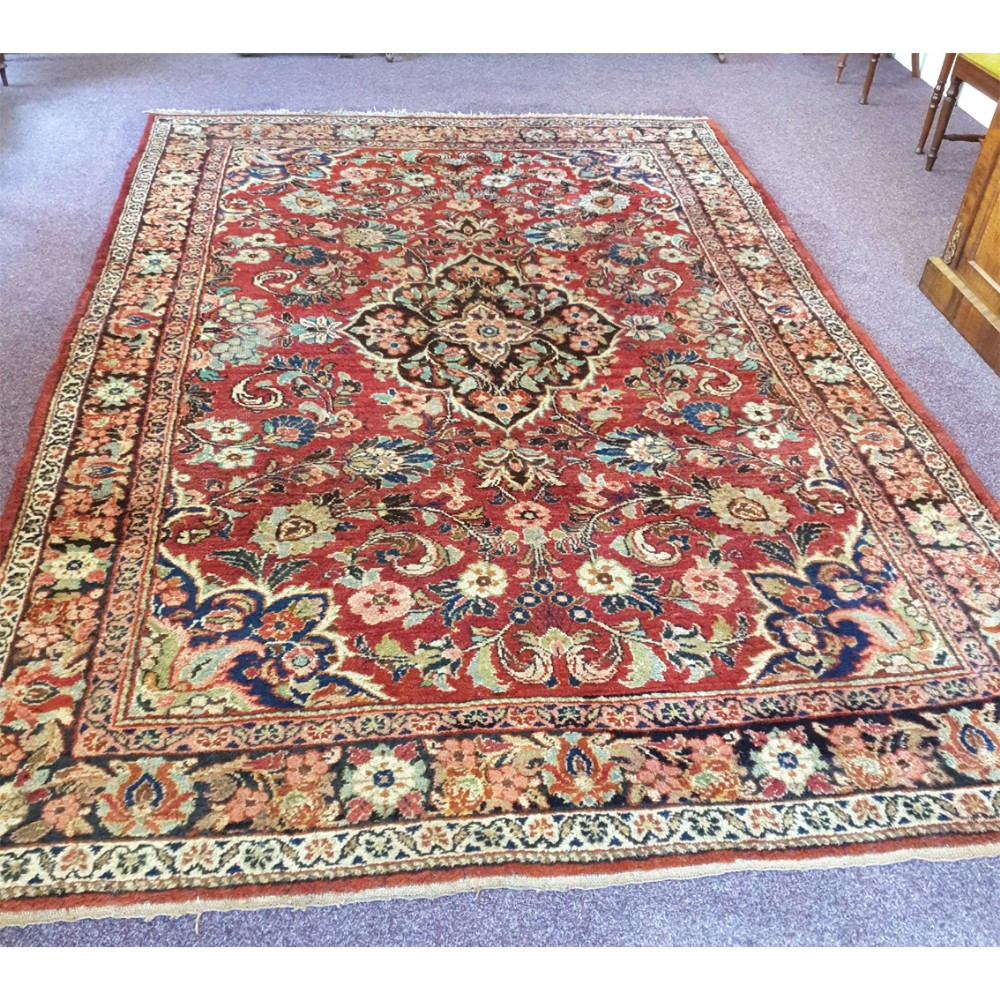 large country house persian meshed carpet