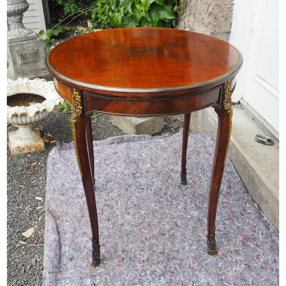 mid 19th century kingwood ormulu centre table