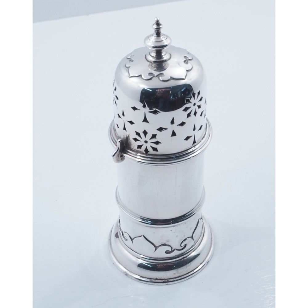 superb quality design silver sugar shaker