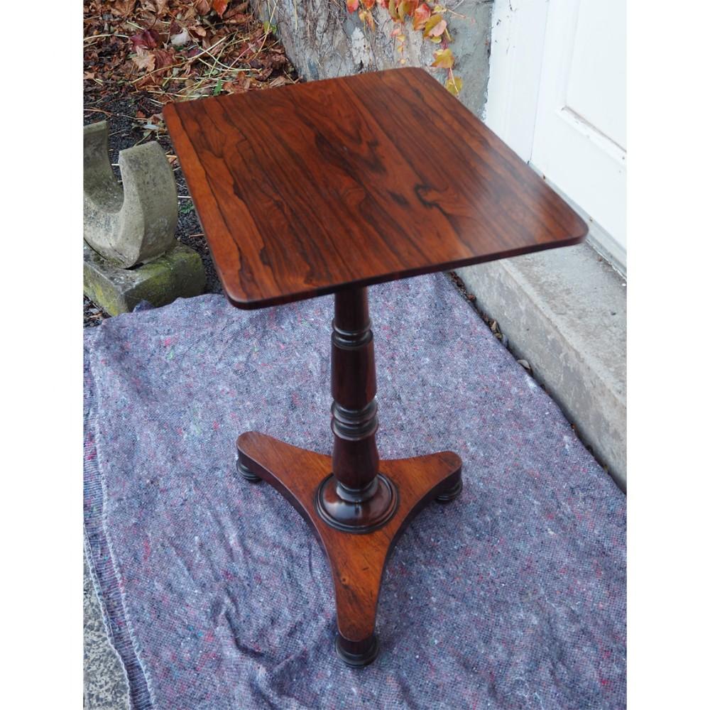regency rosewood wine tripod table