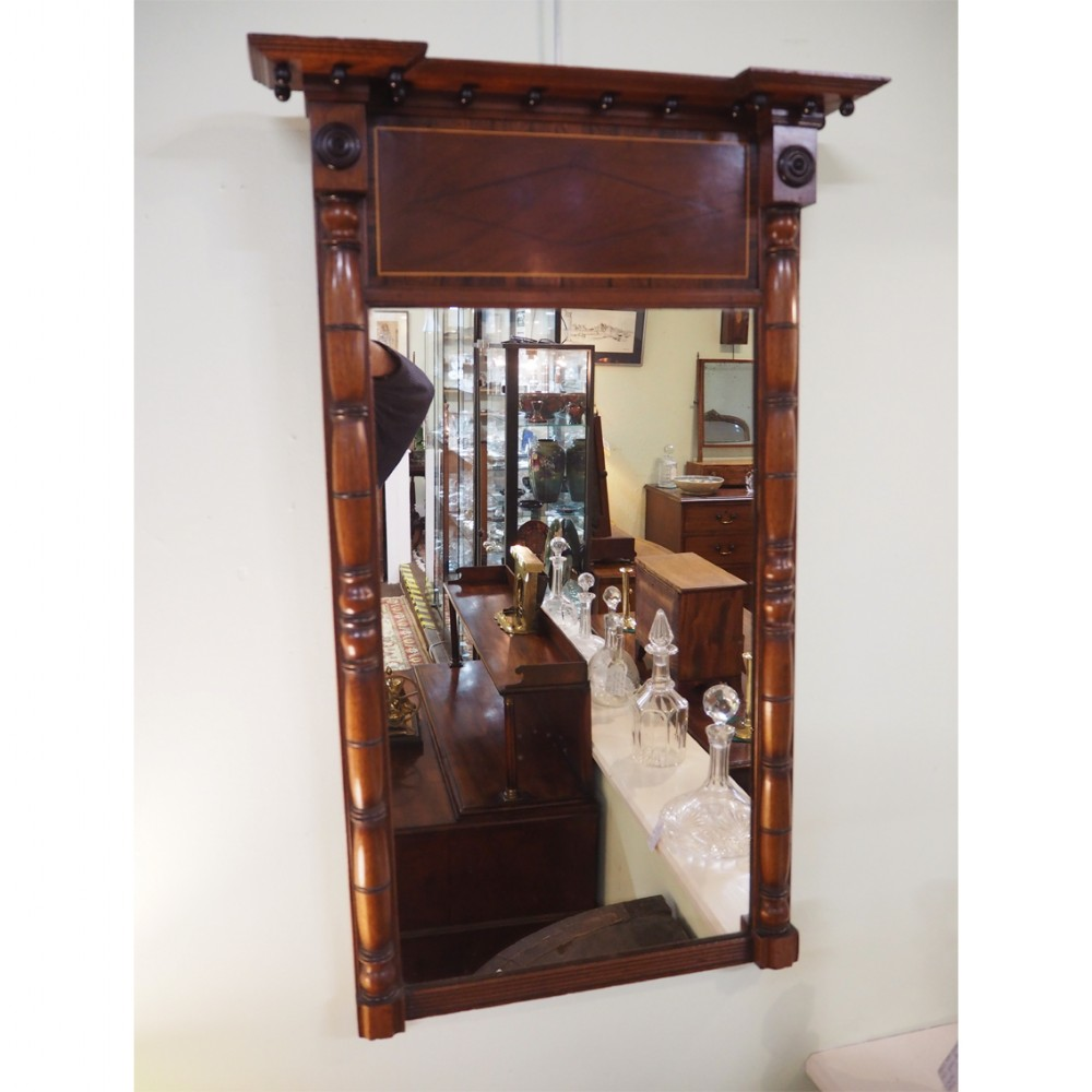 georgian mahogany tall pier mirror