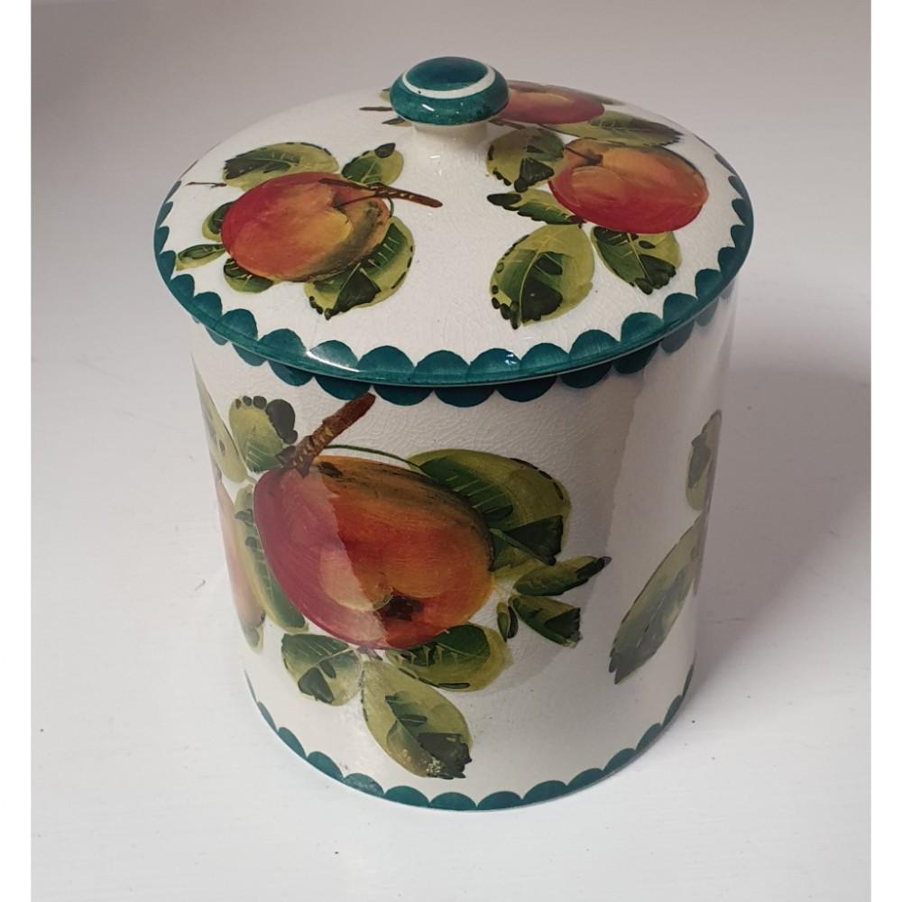 large scottish wemyss preserve jar