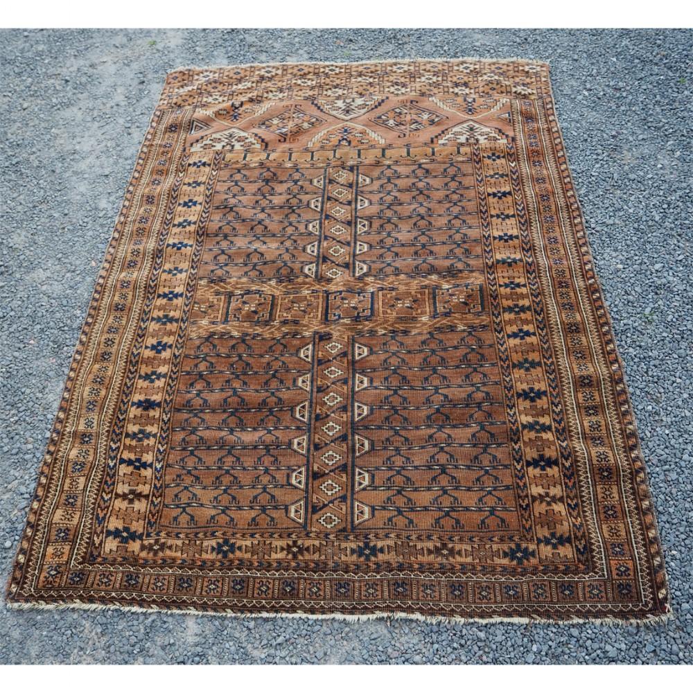 early antique tekke turkman ensi carpet