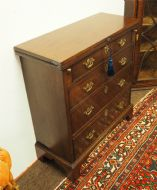 GEORGE II RED WALNUT BATCHELORS CHEST is a good victorian balloon back chair, prie dieu chair