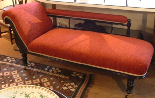 victorian chaise lounge. Victorian Chaise Longue C1880 Lounge