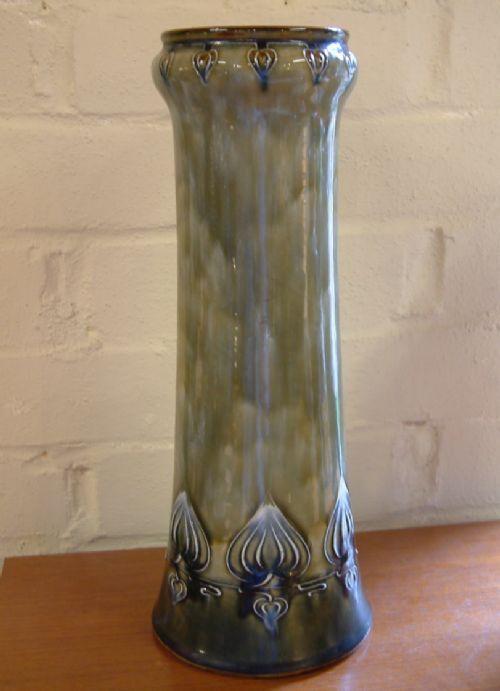A Royal Doulton Art Nouveau Vase C1902 398147 Sellingantiques