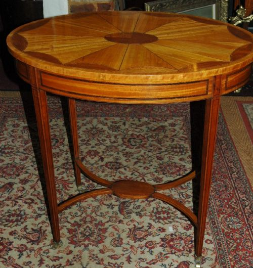 an edwardian sheraton revival occasional table