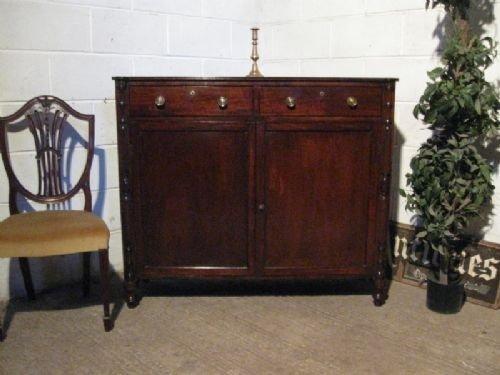 antique regency cuban mahogany sideboard chiffonier c1800 wdb1701911