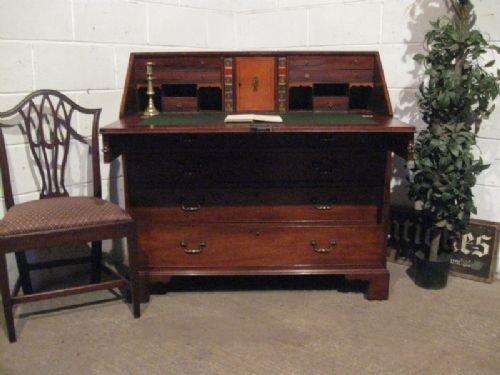 antique georgian regency mahogany bureau desk c1790 wdb4334173