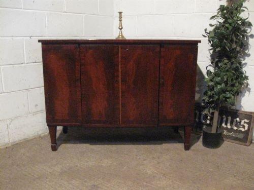 antique regency mahogany breakfront chiffonier sideboard c1800 wdb477616