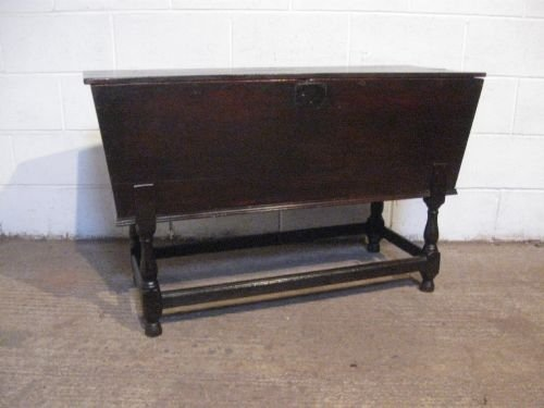antique georgian country oak joined dough bin chest c1780 wdb4935197