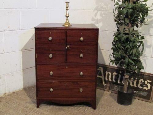 antique regency mahogany pot cupboard side cabinet c1800 wdb61251511