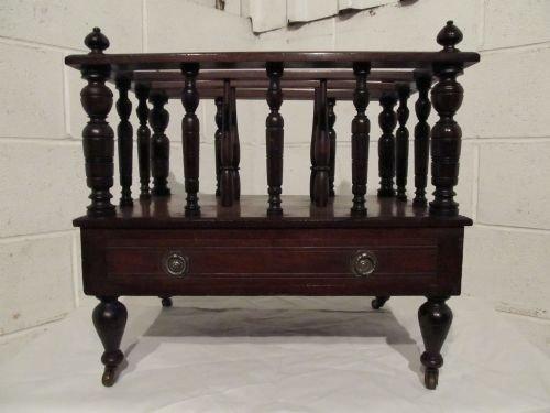 lovely victorian mahogany canterbury c1880 wdb61472911