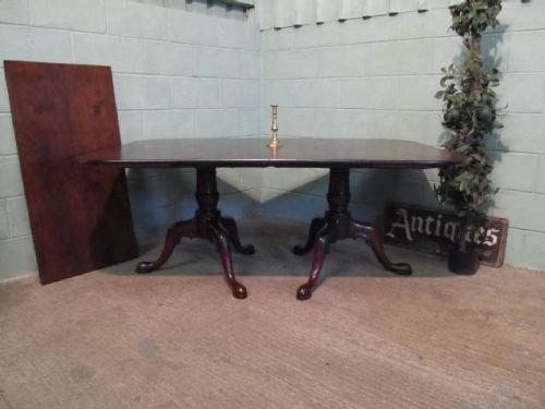 antique edwardian rosewood twin pedastal extending dining table c1900 seats 12 w627813