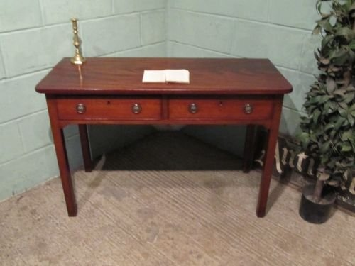 antique regency mahogany side or writing table c1800 w644166