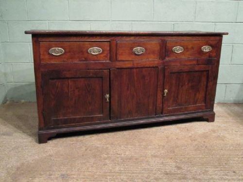 antique georgian country elm dresser sideboard c1750 w673691