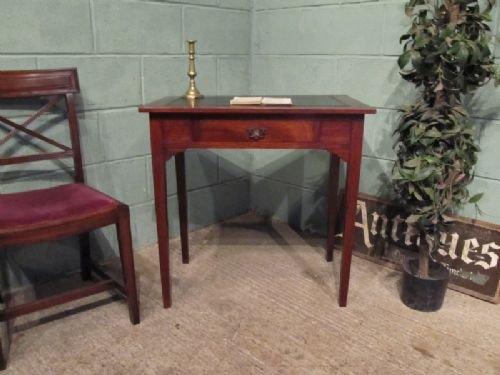 antique small edwardian mahogany writing table c1900 w678562