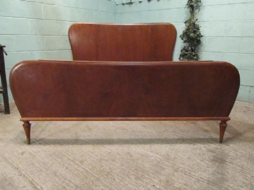 italian walnut 5ft 6 bed c1950