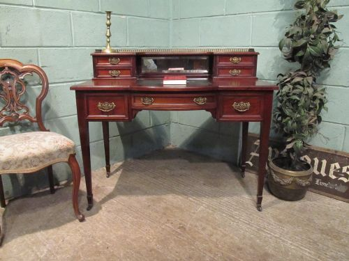 antique edwardian mahogany ladies writing desk c1900 - Antique Edwardian Mahogany Ladies Writing Desk C1900 252572