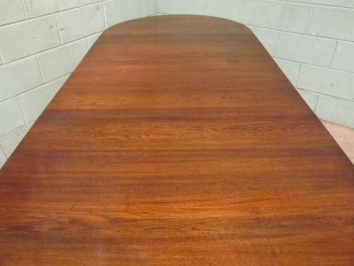 antique victorian oak extending dining table c1880 seats 1012