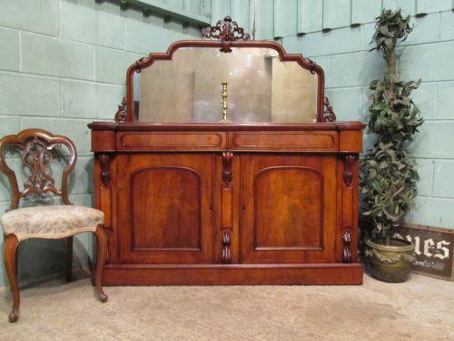 antique victorian mahogany chiffonier c1880