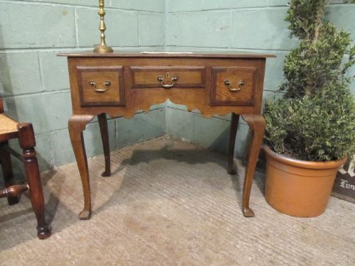 antique georgian oak lowboy c1780
