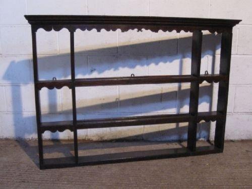 antique georgian country oak dresser plate rack c1780 & Antique Georgian Country Oak Dresser Plate Rack C1780 | 49684 | www ...