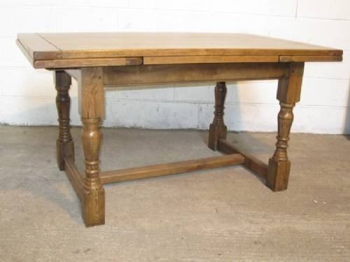 Solid oak jacobean style 10 seat extending dining table for 10 seater solid oak dining table