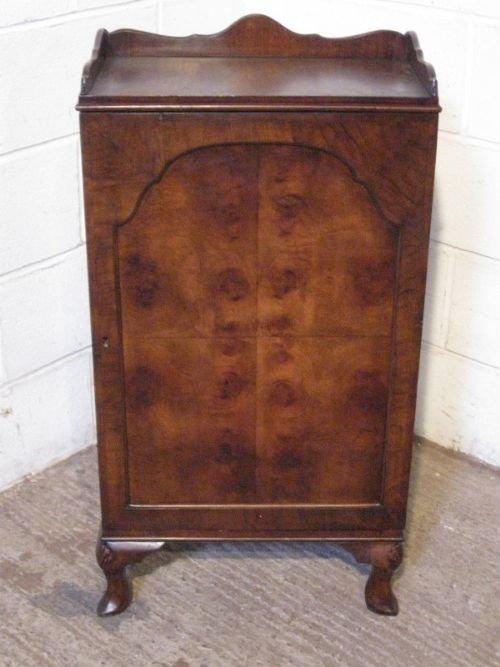 antique victorian burr walnut shoe cabinet c1880 & Antique Victorian Burr Walnut Shoe Cabinet C1880 | 49686 ...