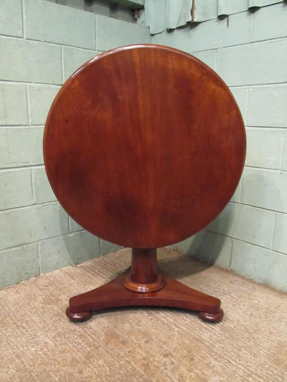 antique victorian mahogany tilt top breakfast table c1880 seats 24