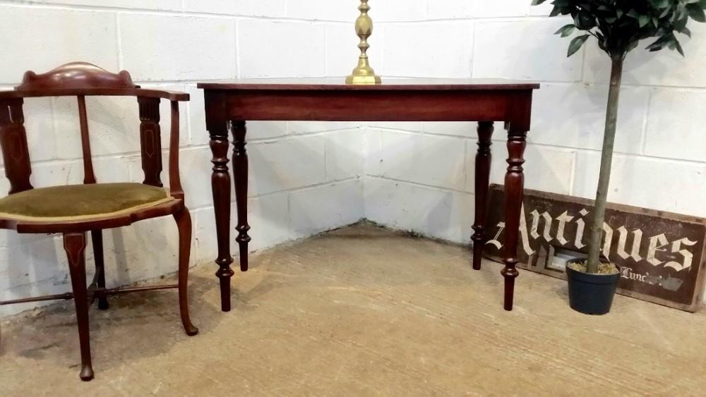 antique victorian mahogany hall table c1880
