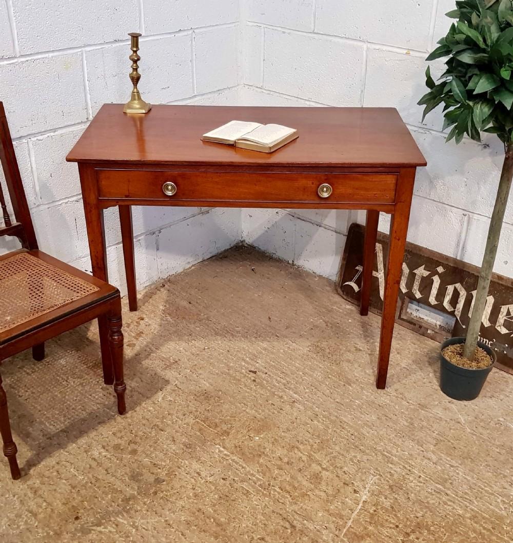 antique regency mahogany side table c1820