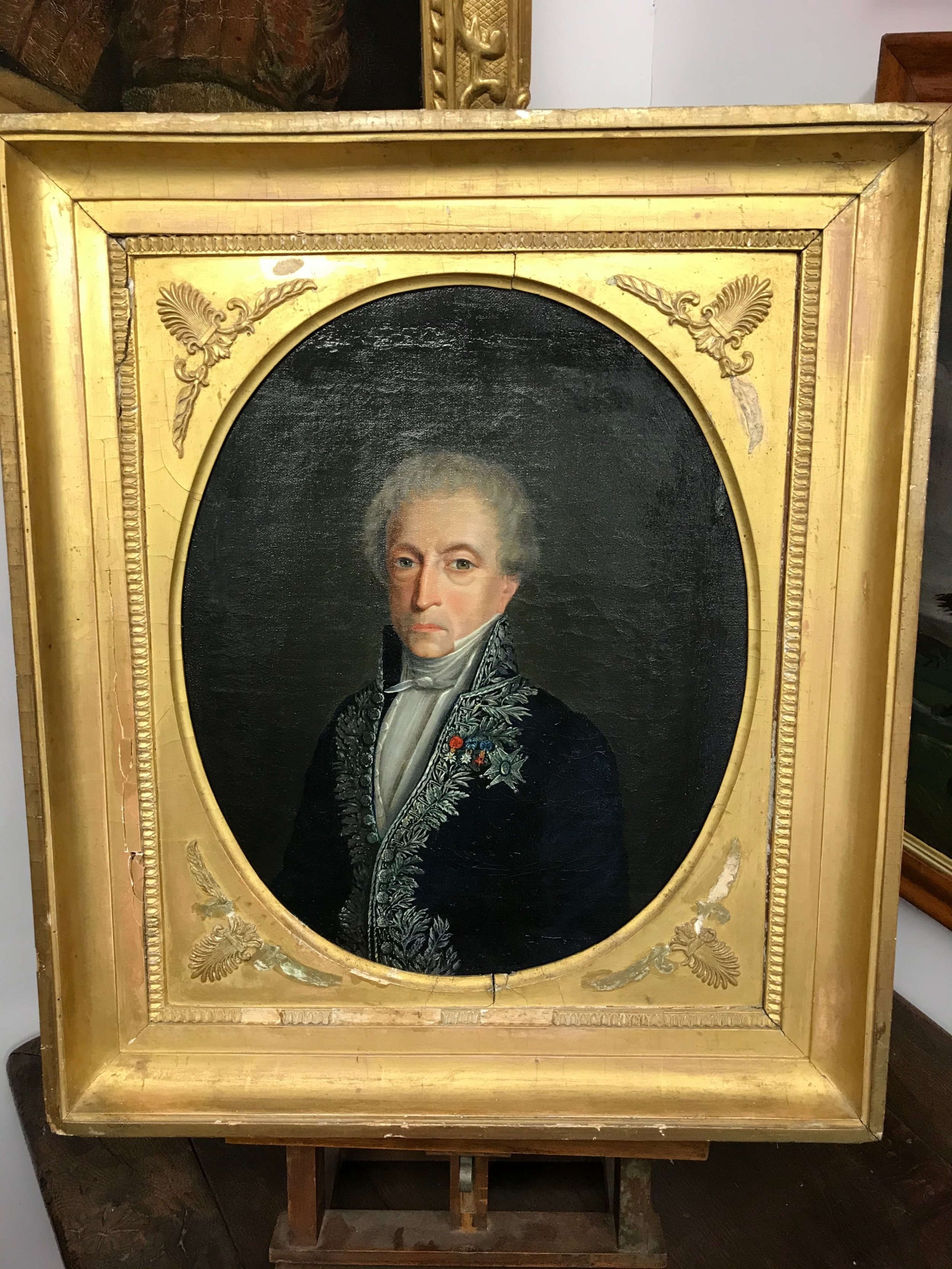 19th century portrait of a french nobleman
