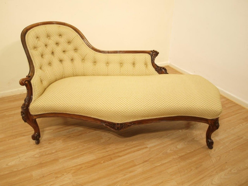 Antiques the uk 39 s largest antiques website for Antique victorian chaise longue