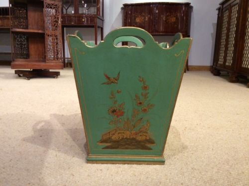 A 1920s Chinoiserie Antique Waste Paper Bin  | 526481