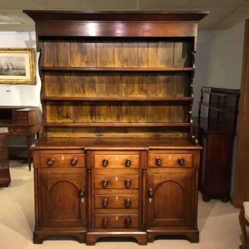 Dark Wood Welsh Dresser: The UK's Largest Antiques Website
