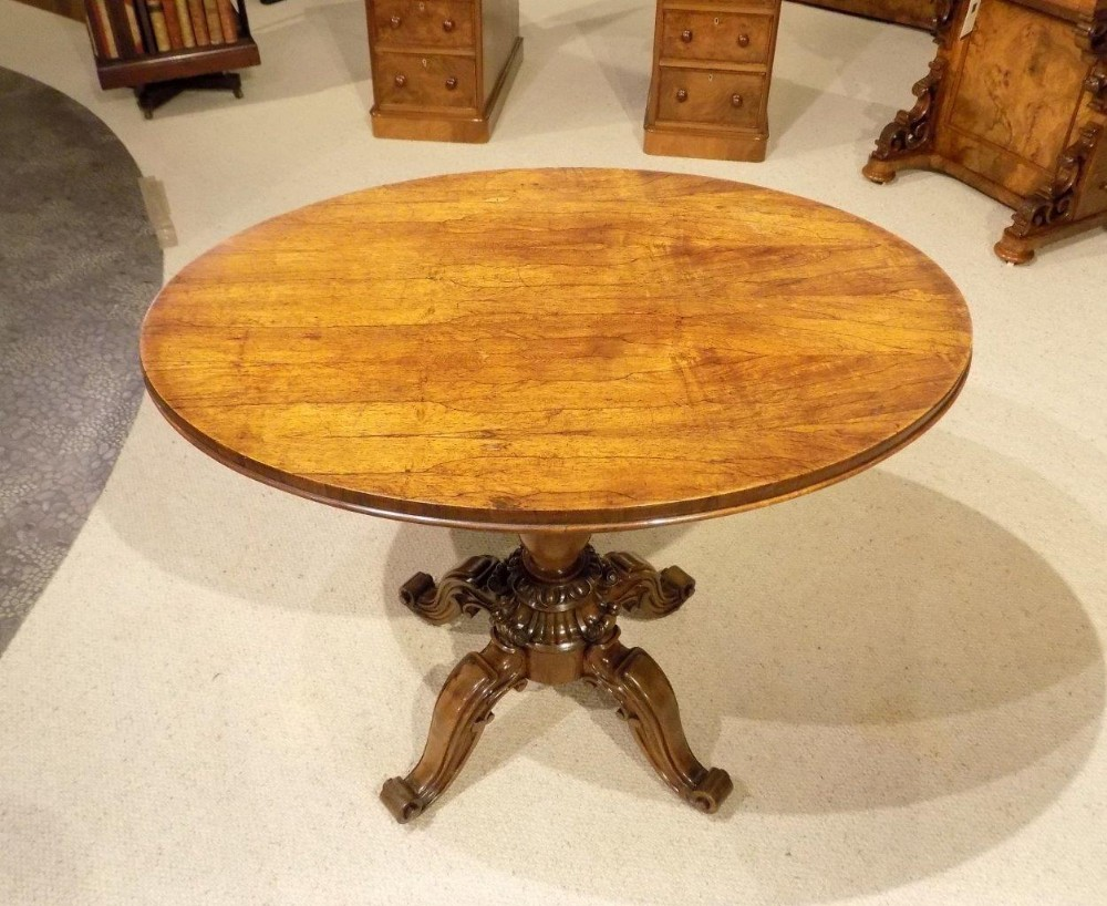 a fine quality rosewood early victorian period occasional table