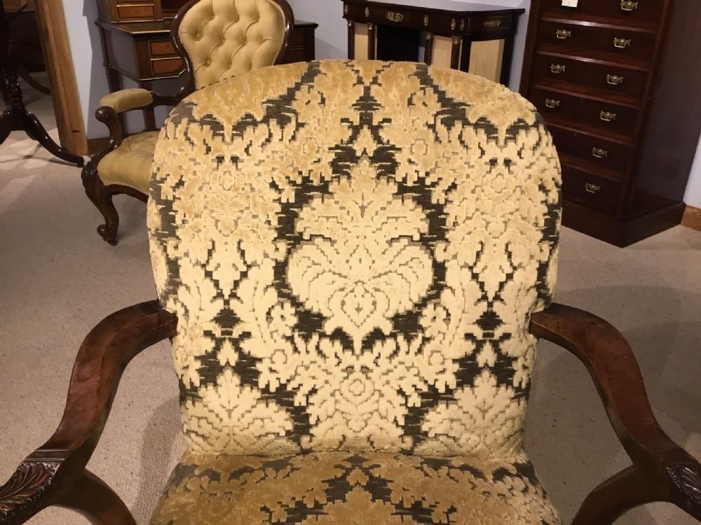 Awesome An Early Georgian Design Walnut Antique Desk Chair 615567 Beatyapartments Chair Design Images Beatyapartmentscom